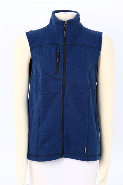 Sweater Knit Fleece Vest - Ladies' 360 View