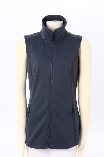 Interfuse Smooth Face Fleece Vest - Ladies' 360 View