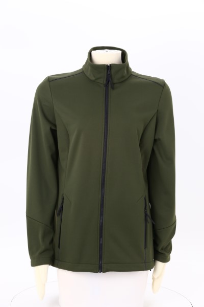 Interfuse Tech Soft Shell Jacket - Ladies' 360 View