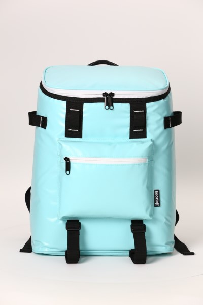 Koozie® Olympus 24-Can Kooler Backpack 360 View