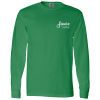 Fruit of the Loom Long Sleeve 100% Cotton T-Shirt - Colors - Screen