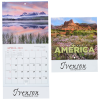 View Image 1 of 2 of Landscapes of America Calendar - Mini
