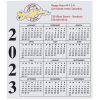 Bic 20 mil Calendar Magnet - Small