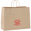 "Kraft Paper Brown Eco Shopping Bag – 12"" x 16"""