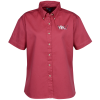 Blue Generation Fine SS Twill Shirt - Ladies'