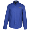 View Image 1 of 3 of Workplace Easy Care Twill Shirt - Men's