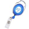 Clip-On Retractable Badge Holder - Translucent