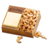 Walnut Post-it® Note Holder with Cashews