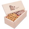 Wooden Box with Toffee & Cashews