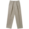 Teflon Treated Pleated Twill Pants - Men's