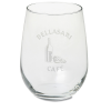 Stemless White Wine Glass - 17 oz.