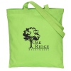 Cotton Sheeting Colored Economy Tote - 15-1/2