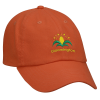 View Image 1 of 4 of Bio-Washed Cap - Solid - Embroidered