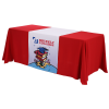 """View Image 1 of 4 of Serged Table Runner - 28""""- Full Color"""