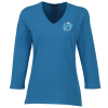 Blue Generation 3/4 Sleeve Tee - Ladies'
