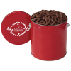 Chocolate Mini Pretzel Tin - Solid - 1 Gallon