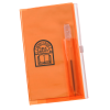 Planner w/Zip-Close Pocket - Monthly - Translucent