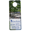 Flexible Plastic Door Hanger  - Full Color