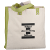 View Image 1 of 2 of Cotton Canvas World Tote