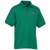 View Image 1 of 2 of Gildan 6 oz. DryBlend 50/50 Jersey Polo - Embroidered