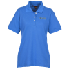 View the Harriton 5.6 oz. Easy Blend Polo - Ladies' - Embroidered