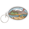 Acrylic Key Chain - Oval