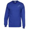 View Image 1 of 2 of Gildan 6 oz. Ultra Cotton LS T-Shirt - Men's - Colors - Screen