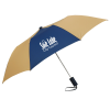 """View Image 1 of 7 of 42"""" Folding Umbrella with Auto Open - Alternating - 42"""" Arc"""