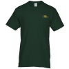Hanes Tagless Pocket T-Shirt - Embroidered - Colors