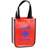 Laminated Polypropylene Shopper Tote - 12