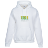 Gildan 50/50 Heavyweight Hoodie - Applique Twill - White