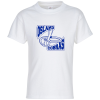 Hanes Tagless T-Shirt - Youth - Screen - White
