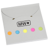 View Image 1 of 3 of Bright Flag Set with Adhesive Notes