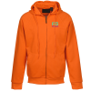 Thermal-Lined Full Zip Sweatshirt - Brights - Emb