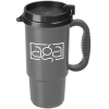 Insulated Auto Mug - 16 oz. - Metallic - Black Lid