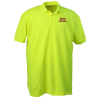 Blue Generation High Visibility Pique Polo - Men's