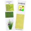 Recipe Bookmarks - Chives