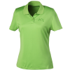 Vansport Omega Solid Mesh Tech Polo - Ladies' - Laser Etched