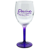 Wine Glass – 8 oz. – Bottom Color