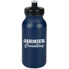 View Image 1 of 2 of Sport Bottle with Push Pull Lid - 20 oz. - Metallic