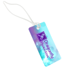 """View Image 1 of 3 of Rectangle POLYspectrum Bag Tag - 2"""" x 4"""" - Opaque"""