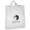 Soft-Loop Frosted Clear Shopper - 19