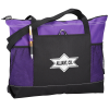 View Image 1 of 2 of Select Zippered Tote - Screen