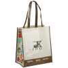 Expressions Grocery Tote - Brown