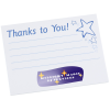Post-it® Recognition Notes - 3x4 - 25 Sheet - Thanks to You