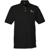 Harriton 5.6 oz. Easy Blend Pocket Polo