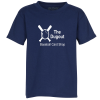 View Image 1 of 3 of Gildan 5.5 oz. DryBlend 50/50 T-Shirt - Youth - Screen - Colors