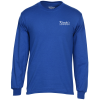 View Image 1 of 3 of Gildan 5.5 oz. DryBlend 50/50 LS T-Shirt - Screen - Colors