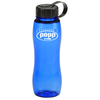 Poly-Pure Slim Grip Bottle with Tethered Lid- 25 oz.