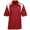 Extreme Performance Color-Block Textured Polo - Men's